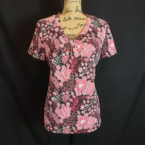 Charter Club Floral Cotton Top